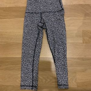 Lulu Lemon Patterned Leggings